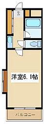 兵庫県尼崎市富松町1丁目の賃貸マンションの間取り