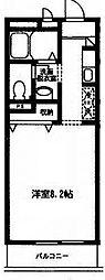 M.サリチェ[2階]の間取り