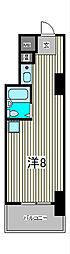 コロネード蕨[4階]の間取り