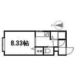 コート山鼻[2階]の間取り