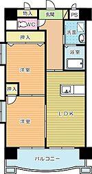 LEAD真鶴(リード真鶴)(高齢者向け優良賃貸住宅)[5階]の間取り
