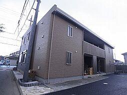 千葉県鎌ケ谷市富岡2丁目の賃貸アパートの外観