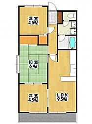 行徳第2マンション[1階]の間取り