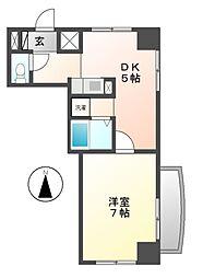 ダイメイビル[2階]の間取り