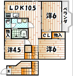 WICE[2階]の間取り