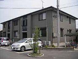 福岡県糟屋郡粕屋町長者原西1丁目の賃貸アパートの外観