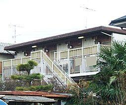 京都府宇治市開町の賃貸アパートの外観