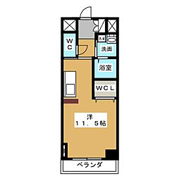 Casone asso[6階]の間取り