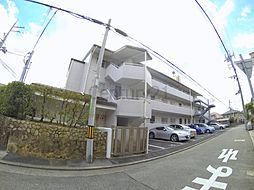 兵庫県川西市花屋敷2丁目の賃貸マンションの外観