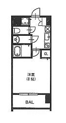 vivi恵美須[6階]の間取り