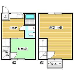 [テラスハウス] 長野県安曇野市豊科 の賃貸【/】の間取り