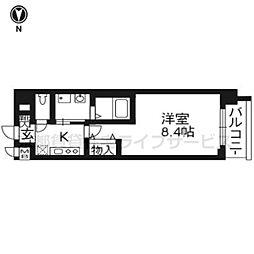 ベラジオ京都駅東[3階]の間取り