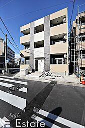 愛知県名古屋市千種区小松町6丁目の賃貸アパートの外観