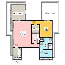 荘苑 覚王山[8階]の間取り