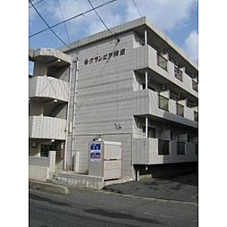 グランピア稗田[1階]の外観