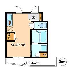 パラッツォ・シンパティコ[1階]の間取り