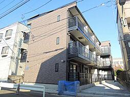 東京都大田区新蒲田3丁目の賃貸アパートの外観
