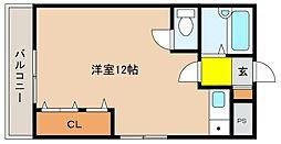 兵庫県神戸市東灘区深江本町4丁目の賃貸マンションの間取り