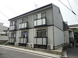 福岡県北九州市八幡東区尾倉1丁目の賃貸アパートの外観