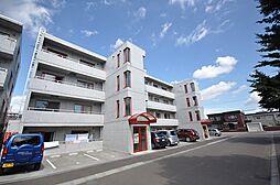 北海道札幌市北区新琴似9条1丁目の賃貸マンションの外観