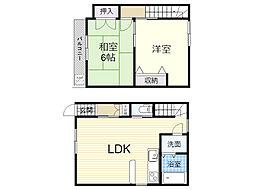 [一戸建] 東京都北区浮間3丁目 の賃貸【/】の間取り