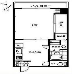 光10マンション[7階]の間取り
