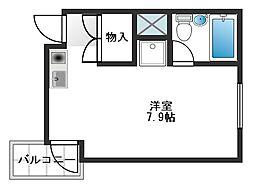 東京都練馬区小竹町2丁目の賃貸マンションの間取り