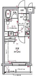 RELUXIA板橋区役所前(リルシア板橋区役所前)[106号室]の間取り