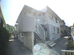 鹿児島県鹿児島市田上5丁目の賃貸アパートの外観