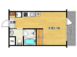 G−Design 京都西院[307号室]の間取り
