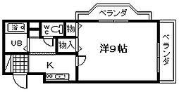 ライフパート2[405号室]の間取り