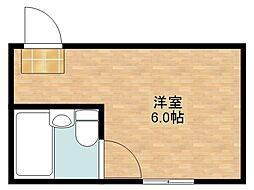 浜口エコーハイツ[3階]の間取り