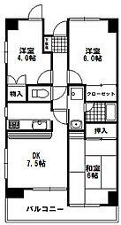 エスアール高崎ビル[2階]の間取り