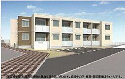 東京都府中市片町3丁目の賃貸アパートの外観