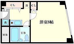 メガロコープ福島[6階]の間取り