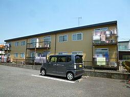 埼玉県北本市本宿3の賃貸アパートの外観