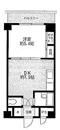 アトリエ元町[2階]の間取り