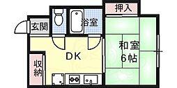 六甲駅 3.5万円