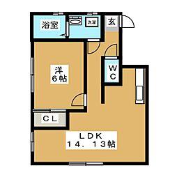 メゾンプライム[2階]の間取り
