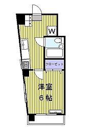 アワーズビル[3階]の間取り