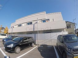 兵庫県宝塚市売布1丁目の賃貸アパートの外観