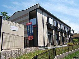 京都府宇治市宇治米阪の賃貸アパートの外観