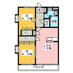 House Of Azalea[2階]の間取り