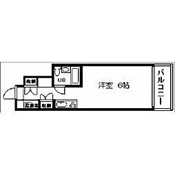 藤和大名コープ[5階]の間取り