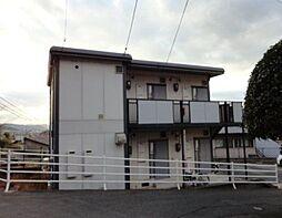 広島県福山市北本庄2丁目の賃貸アパートの外観