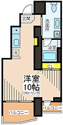 ラ・カルマ[3階]の間取り