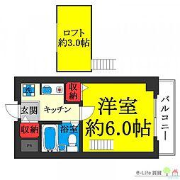 鶴ヶ丘駅 3.9万円