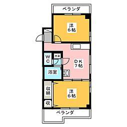第7加藤ビル[2階]の間取り