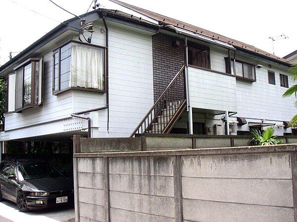 東京都武蔵野市桜堤2丁目の賃貸アパートの外観