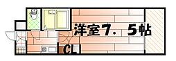 リファレンス南小倉[2階]の間取り